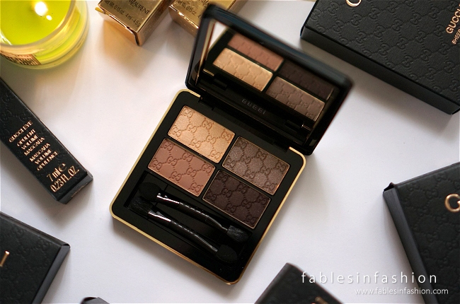 Gucci Eye Magnetic Color Shadow Quad - 020 Tuscan Storm