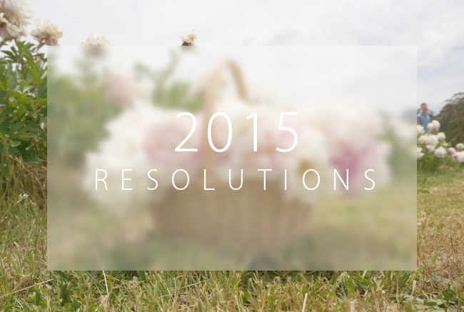 Happy New Year and Resolutions