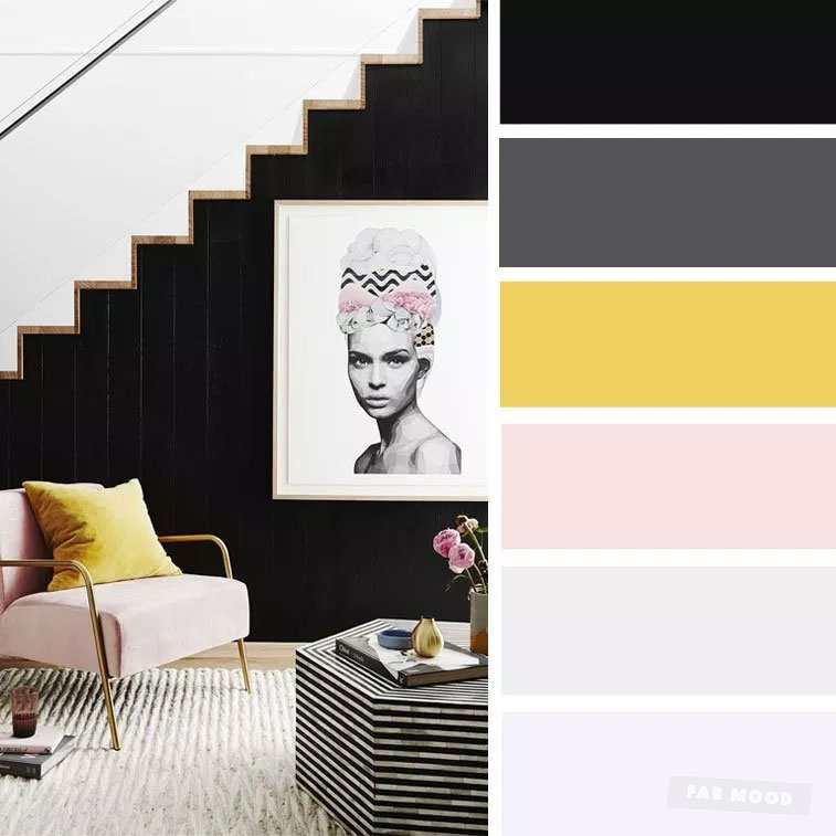 14 ideas Brighten up your room with yellow mustard color, blue and mustard , blush and mustard #color #mustard