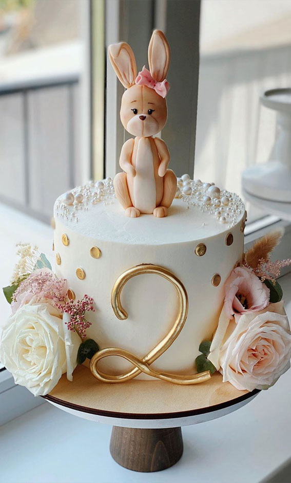 49 Cute Cake Ideas For Your Next Celebration Cute 2nd Birthday Cake