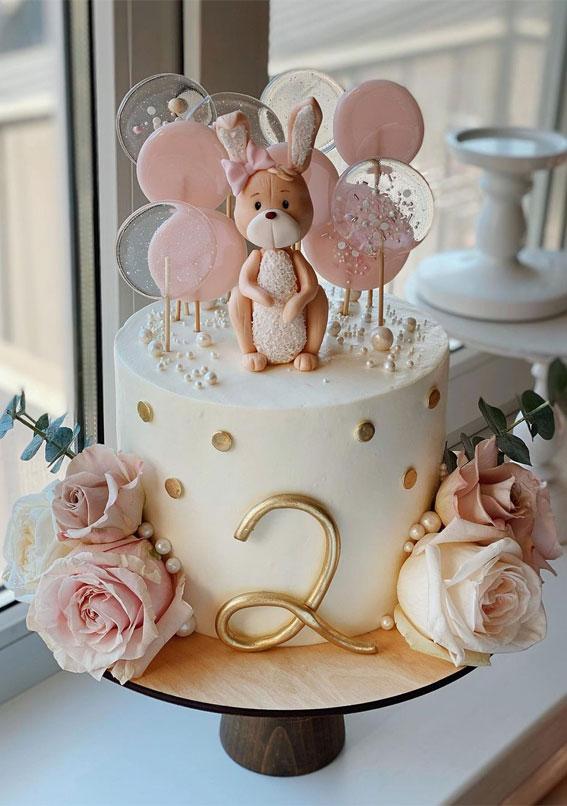54 Jaw Droppingly Beautiful Birthday Cake Cute 2nd Birthday Cake