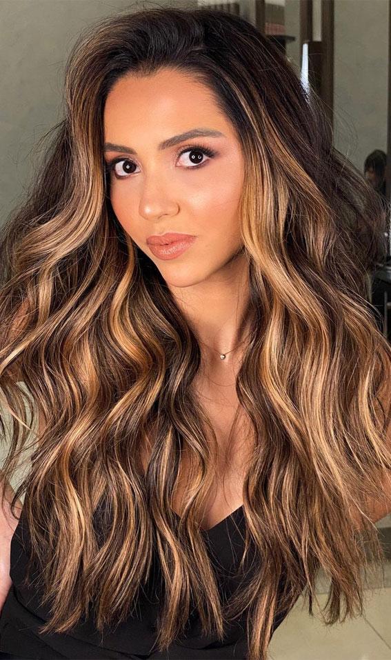 Gorgeous Hair Colour Trends For 2021 : Chestnut hair ...