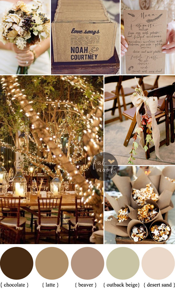 Autumn Wedding Colors 2017