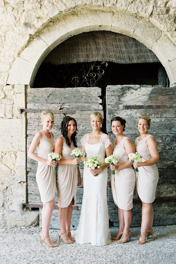 neutral bridesmaids, neutral bridesmaid dress
