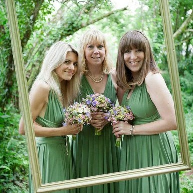 green bridesmaids and lavender bouquets,green lavender wedding,green lavender color scheme,lavender and green wedding colors,lavender green wedding colors,green and lavender wedding,wedding theme