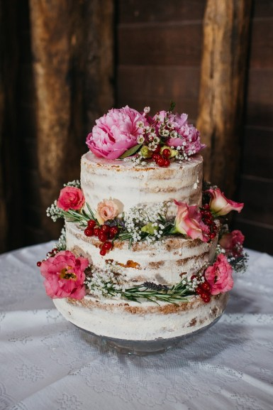 Wedding cake with peony and flowers   Naked wedding cake #weddingcake #weddingcakepeony #peony #nakedweddingcake