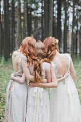 Handmade wedding dresses for Fairy tale wedding | fabmood.com