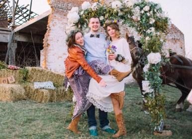 Newly wed Natural,Boho Hippie Chic Wedding | fab mood