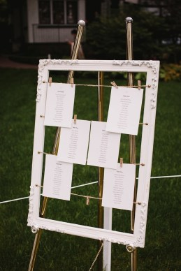 Wedding seating on photo frame | fabmood.com #seatingchart #weddingseatingplan