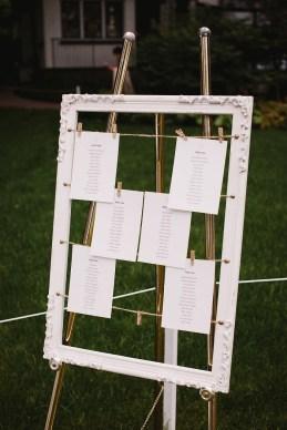 Wedding seating on photo frame | fabmood.com #seatingchart #weddingseatingplan
