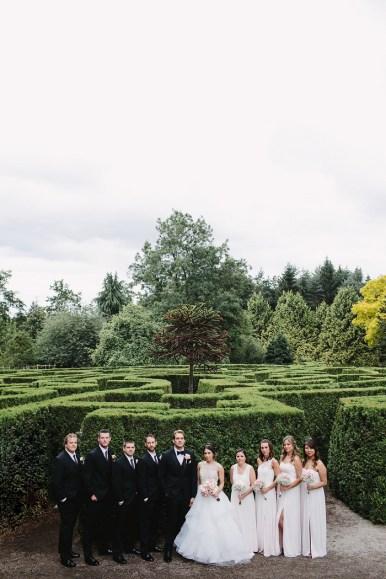 Wedding Party - Summer wedding | fab mood #blushwedding #botanicalwedding