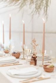 minimalist wedding table decors