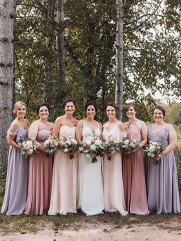 mismatched bridesmaid dresses, spring bridesmaid dresses , bridesmaid dresses 2020