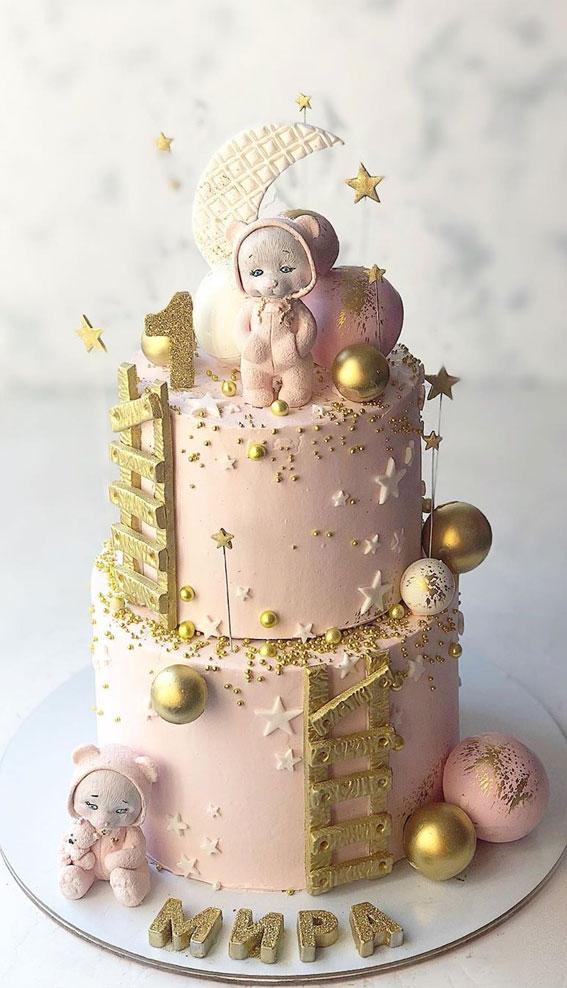 12 Best 1st Baby Birthday Cake Designs First Birthday Cake Ideas