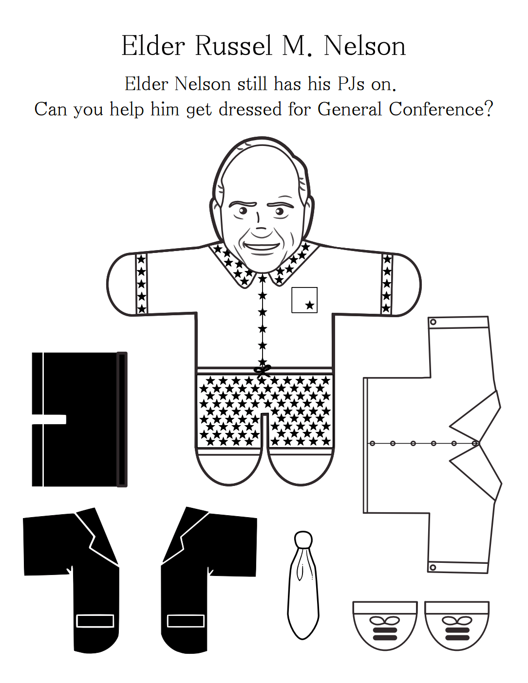 10 Free General Conference Printables For Toddlers Amp Young Children