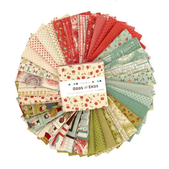 Moda Fabric Odds & Ends 5'' Charm Pack