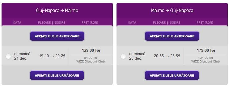 Wizz Cluj-Malmo