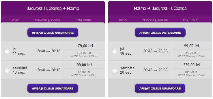 Malmo Wizz Air