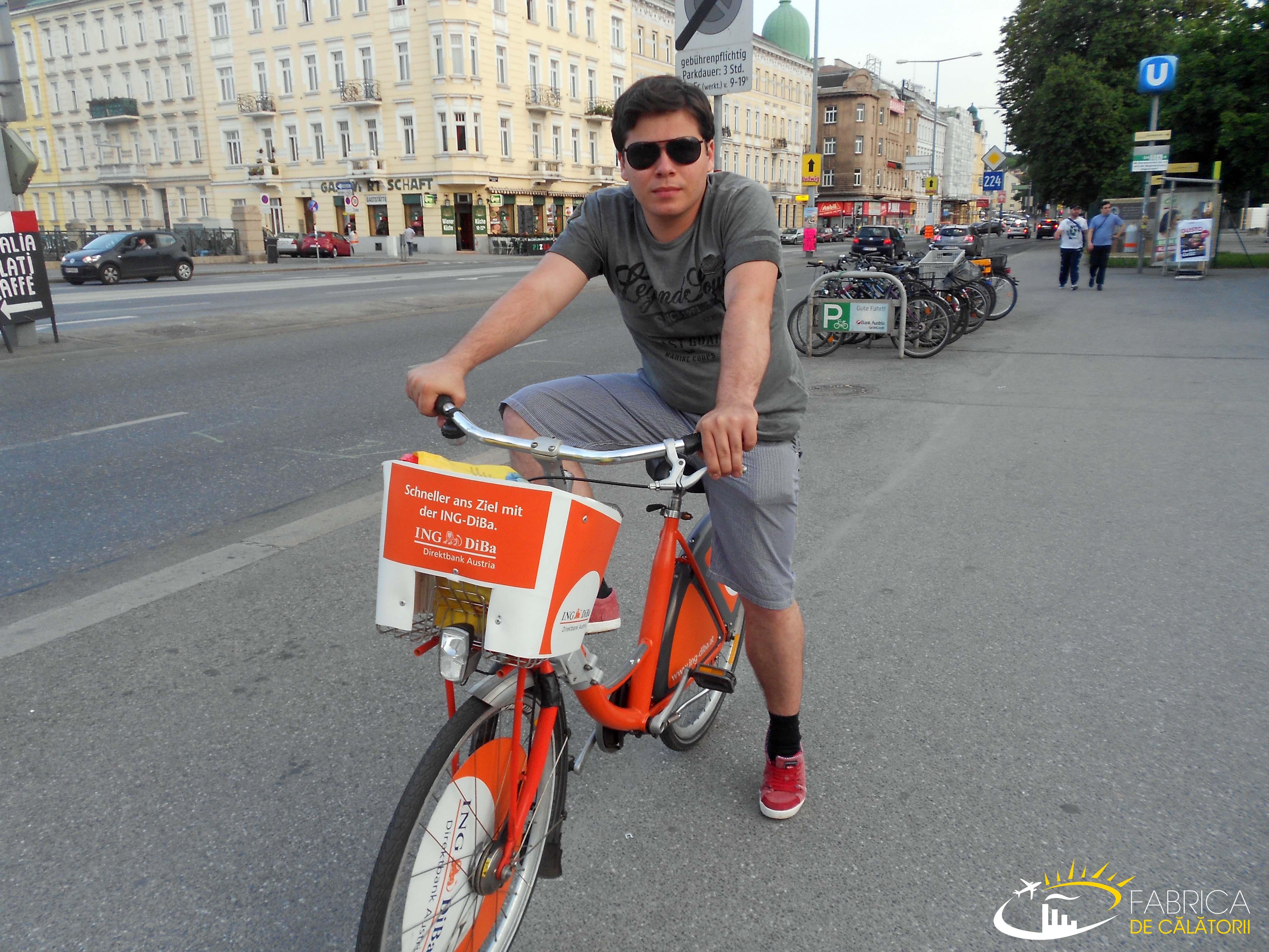 Inchiriere bicicleta Viena