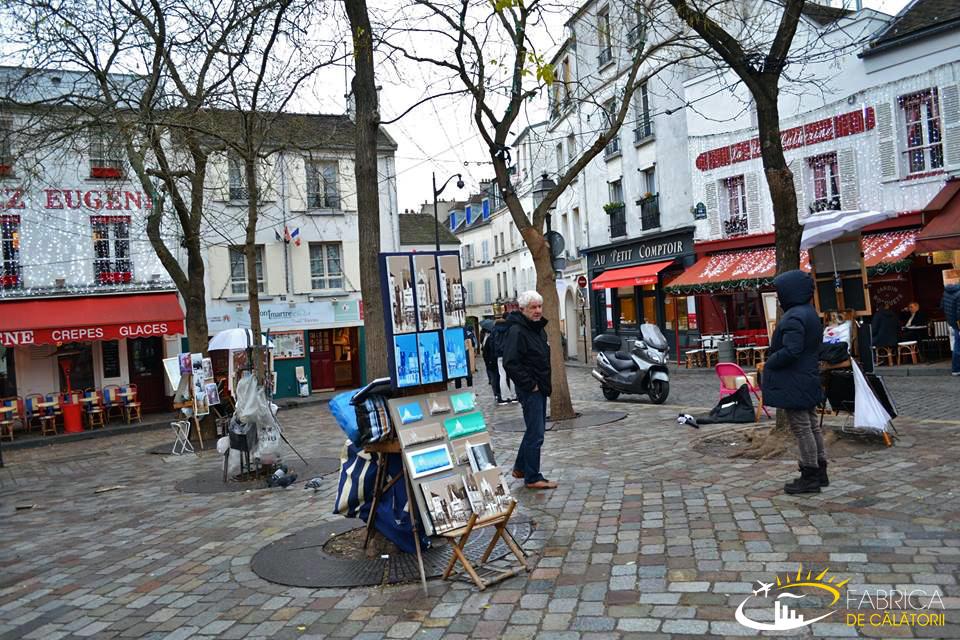 Impresii din Paris - Montmartre