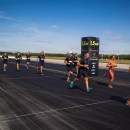 Am participat la bud:runway run 5.0 pe pista Aeroportului din Budapesta!