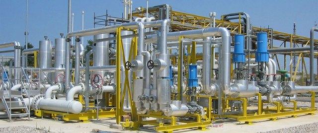 Projeto de tubulacao industrial