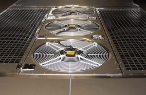 2 hvac condenser fans