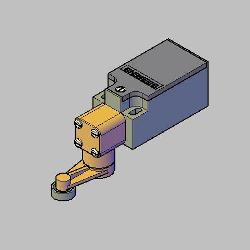 Bloco 3D CH FIM CURSO 3SE3 200 1G SIEMENS