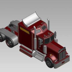 Bloco 3D Caminhão Truck II