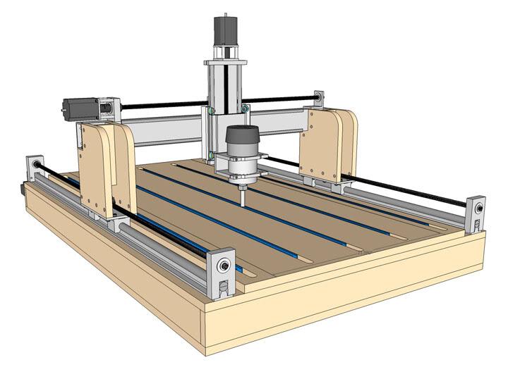 Projeto de CNC ROUTER