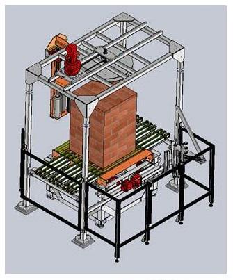 projeto mecanico completo maquina de filme pvc paletizacao fabricadoprojeto