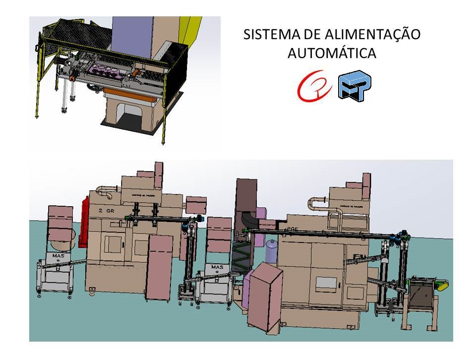 Projetos mecanicos completos de sistemas de alimentacao automaticos fabricadoprojeto