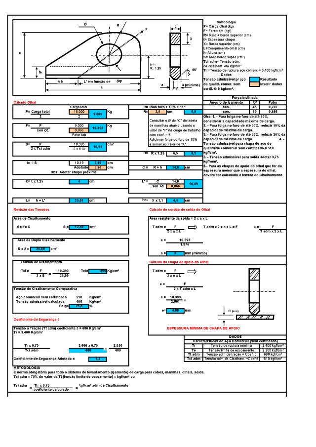 08 Calculo de olhal Page 2