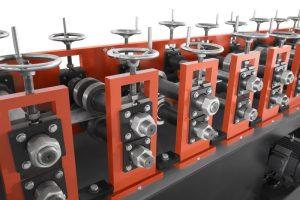 Projeto mecanico perfiladeira para perfis steel frame dry wall