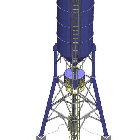 913 Silo 100 toneladas   a
