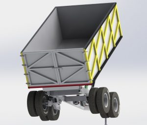Projeto conceito carreta basculante 001