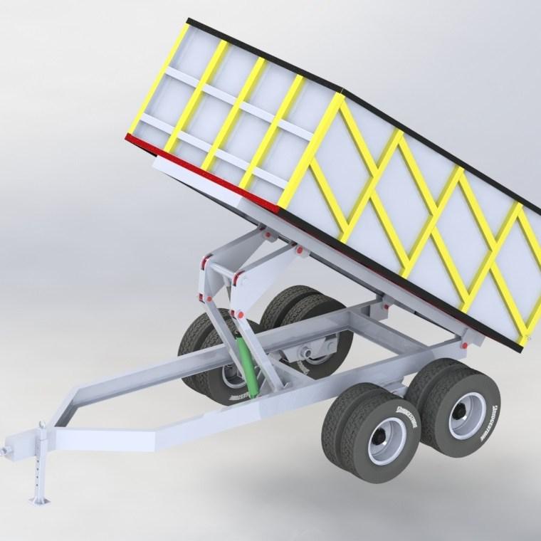 Projeto conceito carreta basculante 002