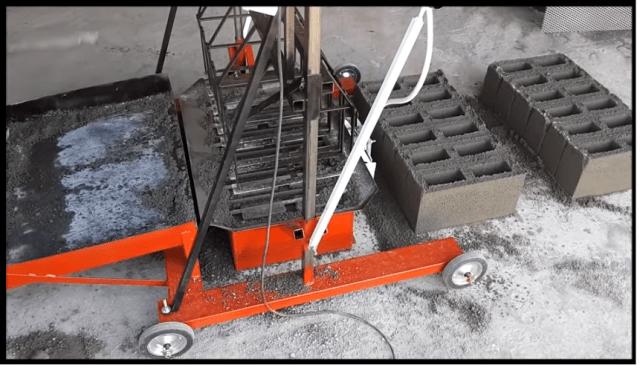 Projeto Maquina de blocos