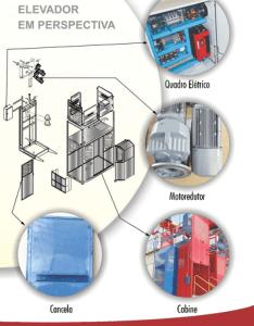 Projeto Completo Elevador cremalheira monta carga