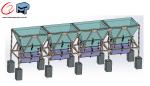 Projetos FP: Silos para pesagem e dosagem de agregados