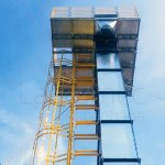 Projetos FP: Elevador de canecas para grãos com alta coesão