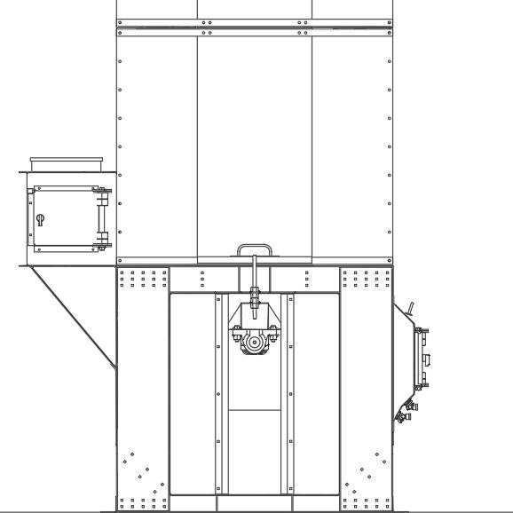 Projeto mecanico completo elevador de canecas alta capacidade fabricadoprojeto