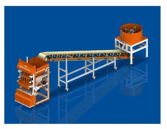 projeto maquina blocos pneumatica com misturador fabricadoprojeto