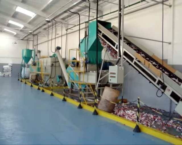 projeto completo reciclagem garrafa PET fabricadoprojeto