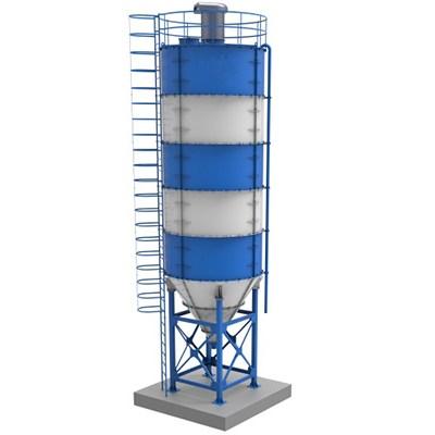fabricadoprojeto projeto completo silo cimento