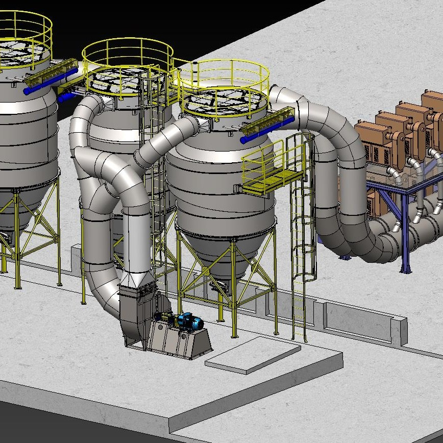 projeto completo sistema de despoeiramento e captacao fabricadoprojeto