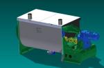 Projetos FP: Projeto Mecânico Misturador Horizontal