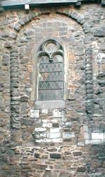 Pan de mur supposé de l'église romane