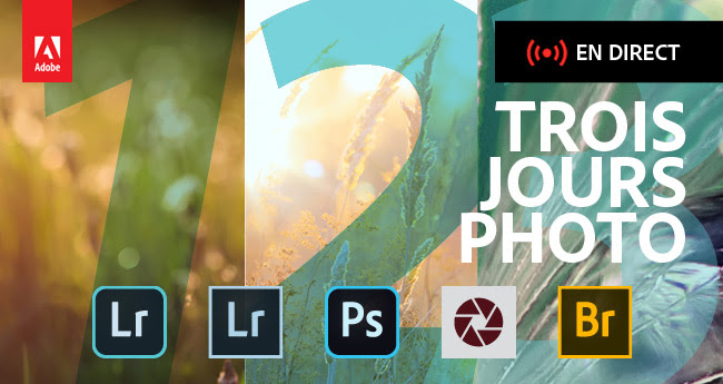 Adobe - 3 jours de direct pour la photo