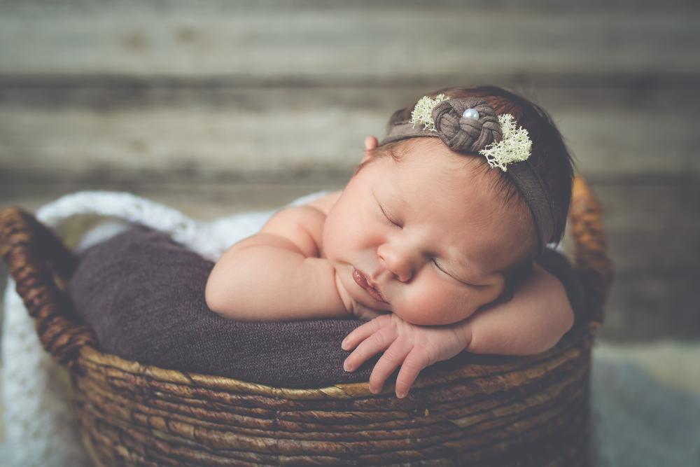 Bébé bandeau chocolat